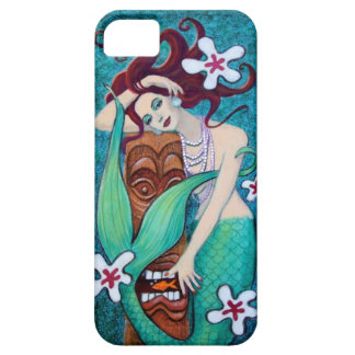 Tropical Tiki Mermaid iPhone 5 Case