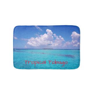 Tropical Tobago Caribbean Bath Mat