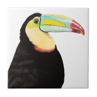 Tropical Toucan Bird Tile