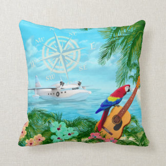 Tropical Travels Cushion