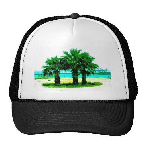Tropical Tree Trio Hat