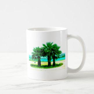 Tropical Tree Trio Basic White Mug
