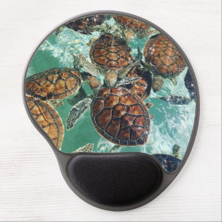 Tropical Turtles (Kimberly Turnbull Photography) Gel Mouse Mat