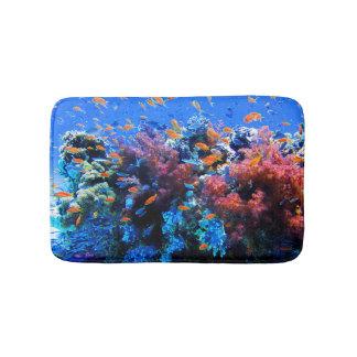 Tropical Underwater Ecosystem Bath Mat