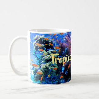 Tropical Underwater Ecosystem Coffee Mug