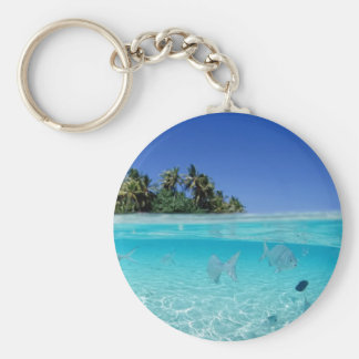 Tropical Underwater Key Ring