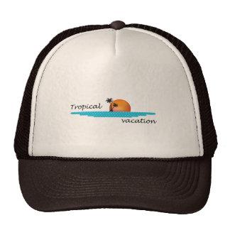 Tropical Vacation Cap