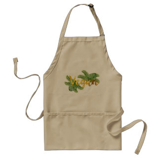 Tropical Vegan Apron