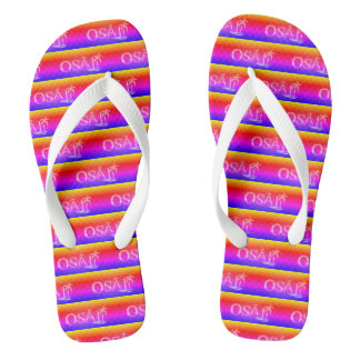 Tropical Vibes Flip Flops
