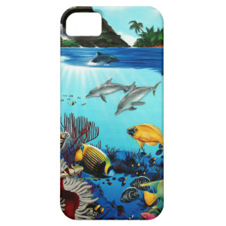 Tropical visions iPhone 5 case
