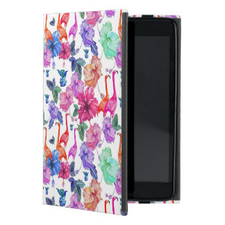 Tropical Watercolor Pattern Case For iPad Mini
