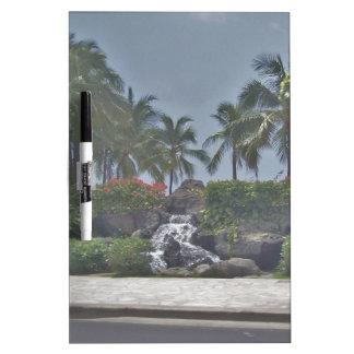 Tropical Whiteboard Dry Erase Board