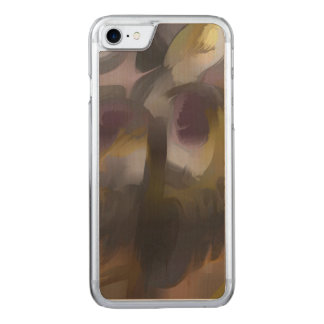 Tropical Wind Pastel Abstract Carved iPhone 7 Case