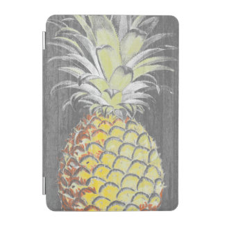 Tropical Yellow Pinneapple on Grey iPad Mini Cover