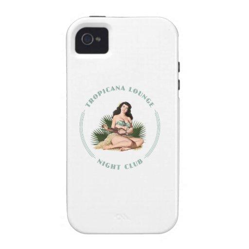 Tropicana Night Club 1 Tropicana Lounge Hula Girl iPhone 4/4S Cover