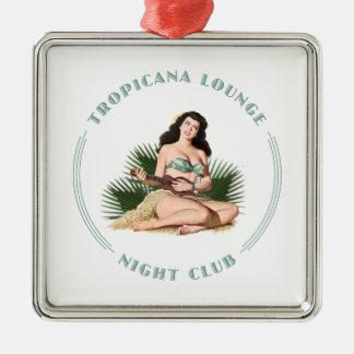 Tropicana Night Club 1 Tropicana Lounge Hula Girl Christmas Ornament