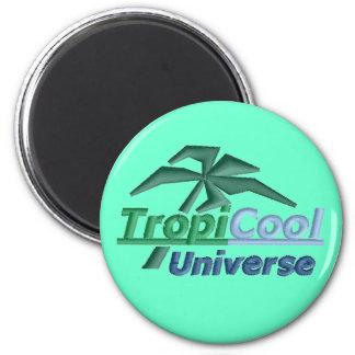 TropiCoolUniverse magnet (teal)