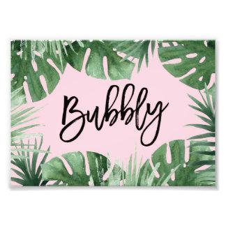 Tropics Bubbly Print
