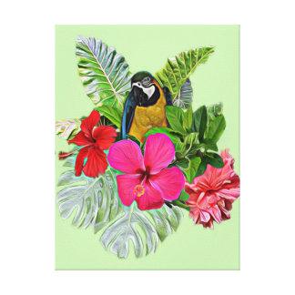 tropics canvas print