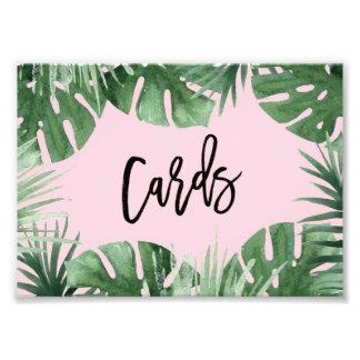 Tropics Cards Print