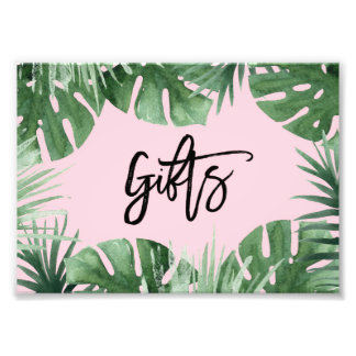 Tropics Gifts Print Photograph