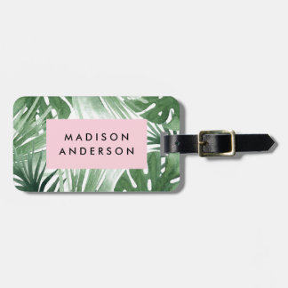 Tropics Luggage Tag