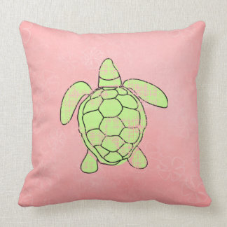 Tropics Reversible Sea Turtle Cushion
