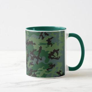 Tropics Verdant Camo Glass Mug