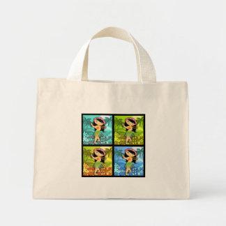 TropoGirl Stock market Mini Tote Bag