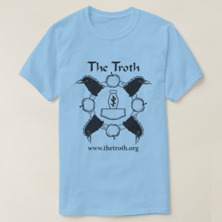 Troth B&W Full Front Tee