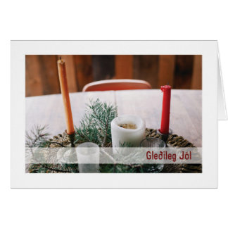 Troth Yule Card :: Yule Candles