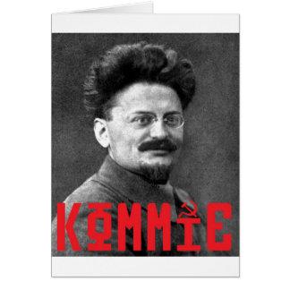trotsky greeting card