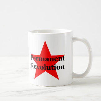 Trotsky: Permanent Revolution Basic White Mug