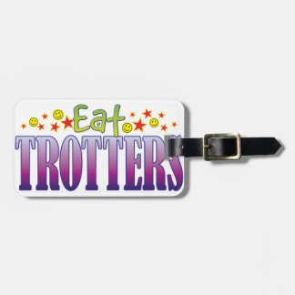Trotters Eat Tag For Bags