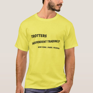 Trotters independent trading co tv t shirt