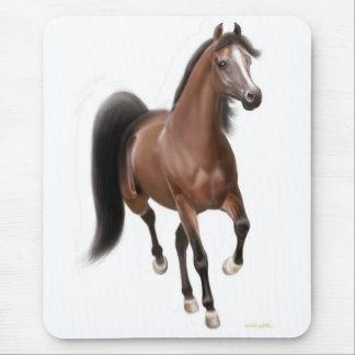 Trotting Arabian Horse Mousepad