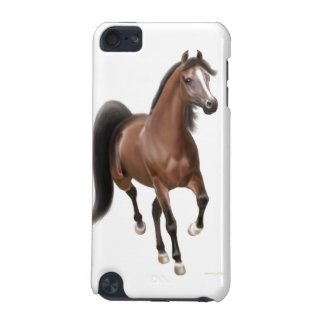 Trotting Bay Arabian Horse iPod Touch 4G Case iPod Touch (5th Generation) Cases