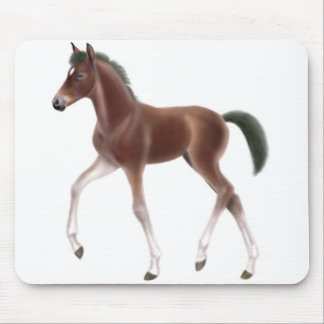 Trotting Foal Mousepad