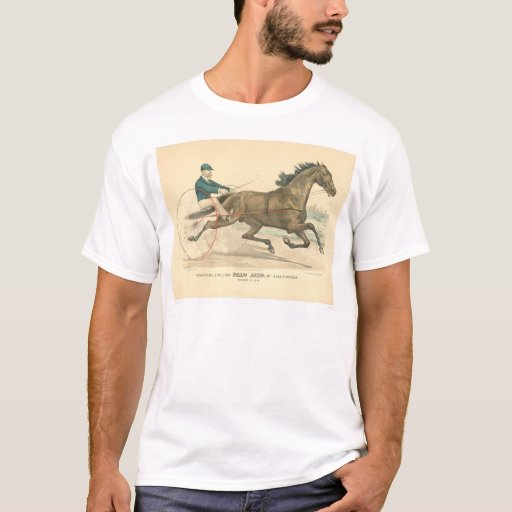 Trotting stallion Palo Alto by Electioneer (1791A) T-Shirt