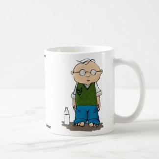 Trouble Basic White Mug