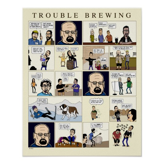 Trouble Brewing: The Poster