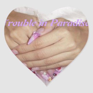 Trouble in Paradise Girls Club Stickers