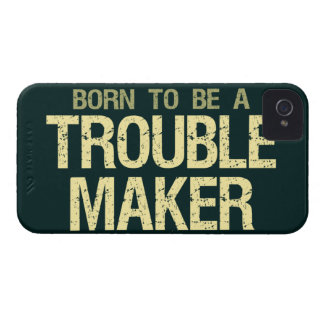 Trouble Maker iPhone 4 Case-Mate