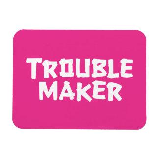Trouble Maker Rectangular Photo Magnet