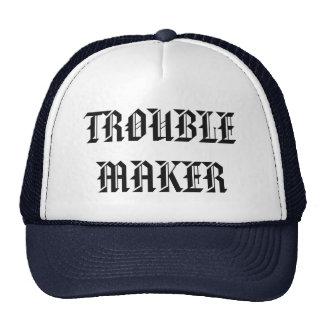 trouble maker truck hat