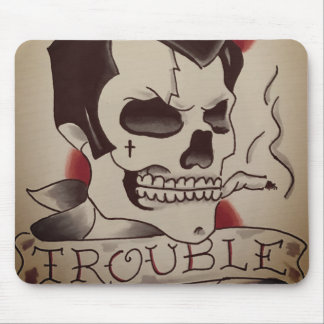 trouble mouse pad