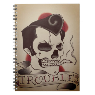 trouble note pad note books
