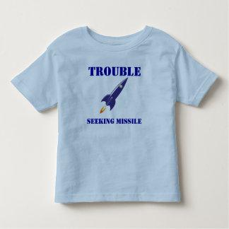 Trouble Seeking Missile Toddler T-Shirt