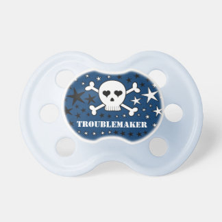 Troublemaker Cute Skull and Crossones Dummy