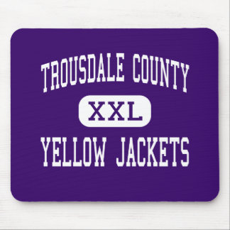 Trousdale County - Yellow Jackets - Hartsville Mouse Pad